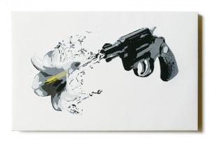 ステンシルアート「Splash!!!」
