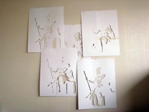 ステンシルアート「Painter」