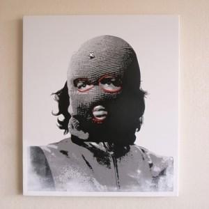 ステンシルアート作品「Che」after