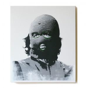 ステンシルアート作品「Che (Green Edition)」