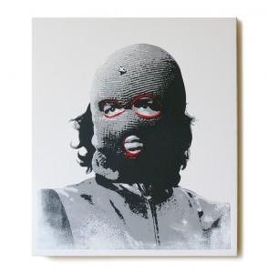 ステンシルアート作品「Che (Red Edition)」